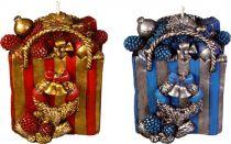 SK-401-A Свеча Пакет с подарками Mister Christmas (h=11 см; красный, синий, в ассортименте) купить