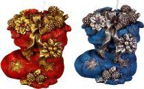 SK-403A Свеча Сапог с подарками Mister Christmas (h=12 см, цвет в ассортименте) купить