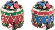 SK-404 Свеча Барабан с подарками Mister Christmas (h=10 см; цвет: в ассортименте) купить