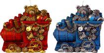 SK-406-A Свеча Паровоз Mister Christmas (h=11 см; красный, синий, в ассортименте) купить