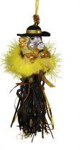 SRB-2012/12 Украшение Дракон Mister Christmas (h=20 см; серебряный, черно-золотой) купить
