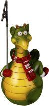 SWN-2012-R Неваляшка-держатель для бумаги Дракон с красным шарфом Mister Christmas купить