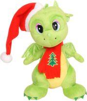 TA-2012/3 Мягкая игрушка Дракон Mister Christmas (h=29 см; цвет: зеленый) купить