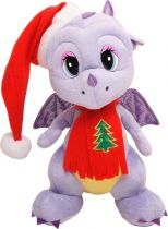 TA-2012/4 Мягкая игрушка Дракон Mister Christmas (h=29 см; цвет: фиолетовый) купить