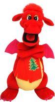 TV-2012/1 Мягкая игрушка Дракон Mister Christmas (h=33 см; цвет: красный) купить
