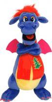 TV-2012/2 Мягкая игрушка Дракон Mister Christmas (h=33 см; цвет: синий) купить