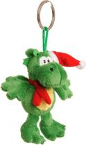 TVB-2012/1G Брелок-мягкая игрушка Дракон Mister Christmas (h=12 см; цвет: зеленый) купить