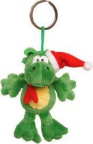 TVB-2012/3G Брелок-мягкая игрушка Дракон Mister Christmas (h=11 см; цвет: зеленый) купить