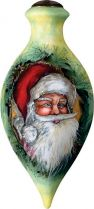 US 157-SA-ED Новогодний сувенир Mister Christmas (h=17 см) купить