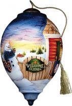 US 190-SN-BP Новогодний сувенир Mister Christmas (h=14 см) купить