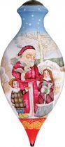 US 219-SA-DB Новогодний сувенир Mister Christmas (h=17 см) купить