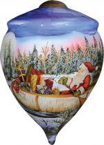 US 261-SA-BP Новогодний сувенир Mister Christmas (h=13 см) купить