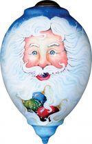 US 403-SA-PA Новогодний сувенир Mister Christmas (h=14 см) купить