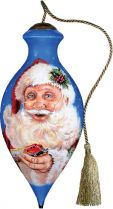 US 433-SA-DG Новогодний сувенир Mister Christmas (h=17 см) купить