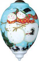 US 500-SN-SW Новогодний сувенир Mister Christmas (h=14 см) купить