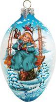 US 73122 Новогодний сувенир Mister Christmas (h=9 см) купить
