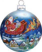 US 73311 Новогодний сувенир Шар Mister Christmas (h=9 см) купить