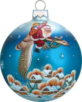 US 73312 Новогодний сувенир Шар Mister Christmas (h=9 см) купить