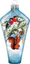US 73451 Новогодний сувенир Mister Christmas (h=10 см) купить