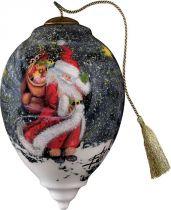 US 776-SA-ED Новогодний сувенир Mister Christmas (h=14 см) купить