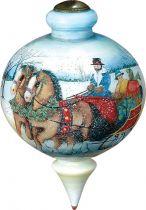 US 855-WI-SW Новогодний сувенир Mister Christmas (h=17 см) купить