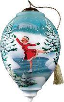 US 883-WI-BN Новогодний сувенир Mister Christmas (h=14 см) купить