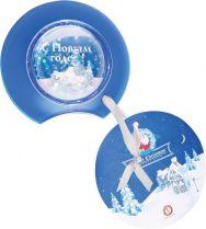 WM-BT Магнит со вставкой Mister Christmas (цвет: прозрачно-голубой) купить