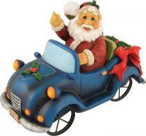XCE-016 Копилка Дед Мороз на автомобиле Mister Christmas (l=22 см) купить