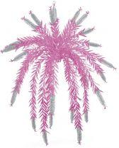 Z 687 Украшение фольгированное Mister Christmas (d=1,5 м; цвет: серебряный,розовый) купить