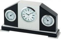 A9015 BL Часы настольные с термометром и гигрометром Linea del Tempo купить