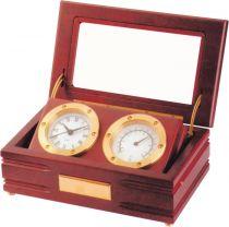 A9033 Часы настольные с термометром Linea del Tempo купить