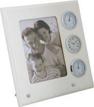 A9054 W Рамка для фото с часами, термометром и гигрометром Linea del Tempo купить