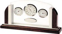 A9062 Часы настольные с термометром и гигрометром Linea del Tempo купить