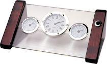 A9074 Часы настольные с термометром Linea del Tempo купить