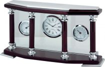 A9079 Часы настольные с термометром и гигрометром Linea del Tempo купить