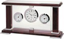 A9091 Часы настольные с термометром и гигрометром Linea del Tempo купить