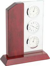 A9109 Часы настольные с термометром и гигрометром Linea del Tempo купить