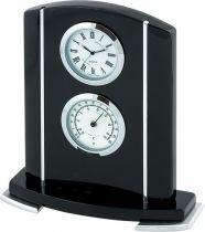 A9122 BL Часы настольные с термометром Linea del Tempo купить