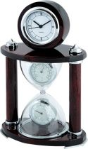 A9145 Часы настольные с термометром и гигрометром Linea del Tempo купить