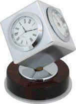 A9177 Часы настольные с термометром и гигрометром Linea del Tempo купить