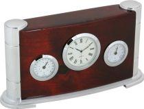 A9211 Часы настольные с термометром и гигрометром Linea del Tempo купить