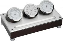 A9233 Часы настольные с термометром и гигрометром Linea del Tempo купить
