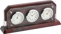 A9256 Часы настольные с термометром и гигрометром Linea del Tempo купить