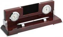 A9257 Часы настольные с термометром Linea del Tempo купить