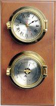 CK052 Часы настенные с барометром Sea Power купить