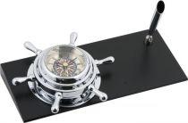 CK102RC Часы настольные Штурвал Sea Power купить