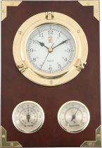 CK205 Часы настенные Иллюминатор с термометром и гигрометром Sea Power купить