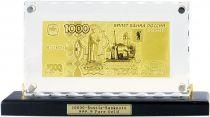 Набор подарочный на подставке 1000 рублей Banconota Dorata (1 банкнота) купить
