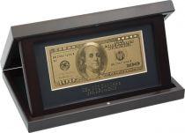 HB-166 Набор подарочный на подставке 100 долларов Banconota Dorata (1 банкнота) купить