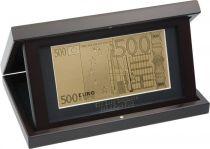 Набор подарочный в рамке 500 евро Banconota Dorata (1 банкнота) купить